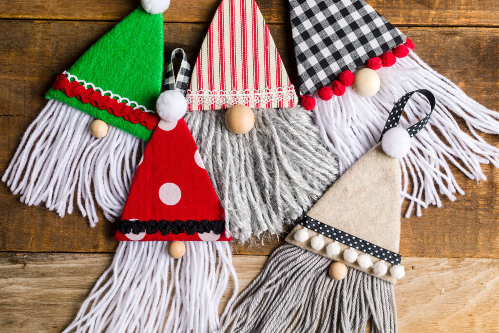 DIY Gnome Ornaments
