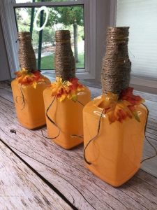 DIY Pumpkin Lights