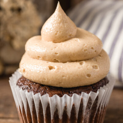 Triple Chocolate cupcake with delicious icing