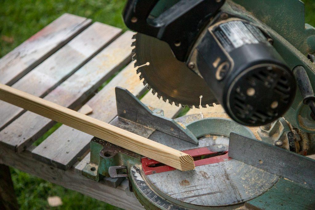 Rung angled cut