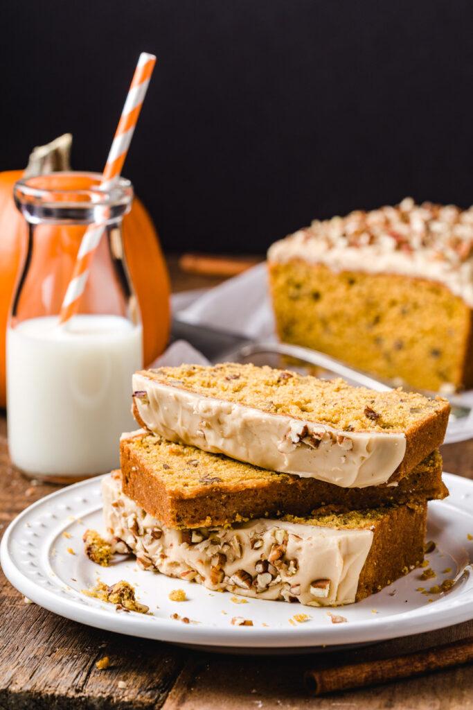 Perfect autumn cake snack