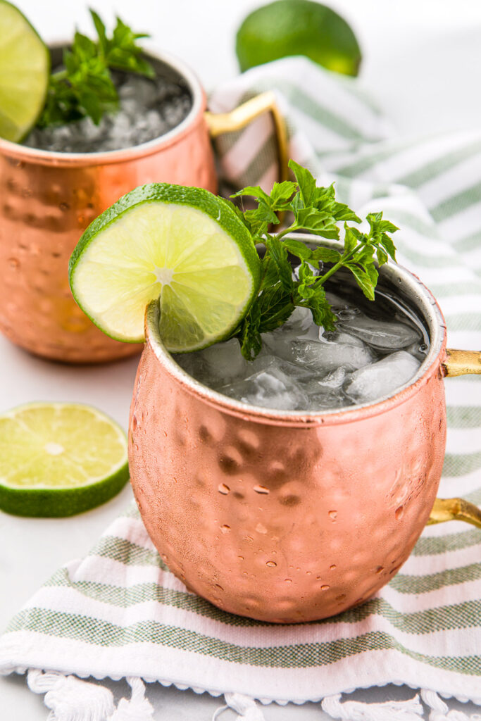 Add a slice or wedge of lime