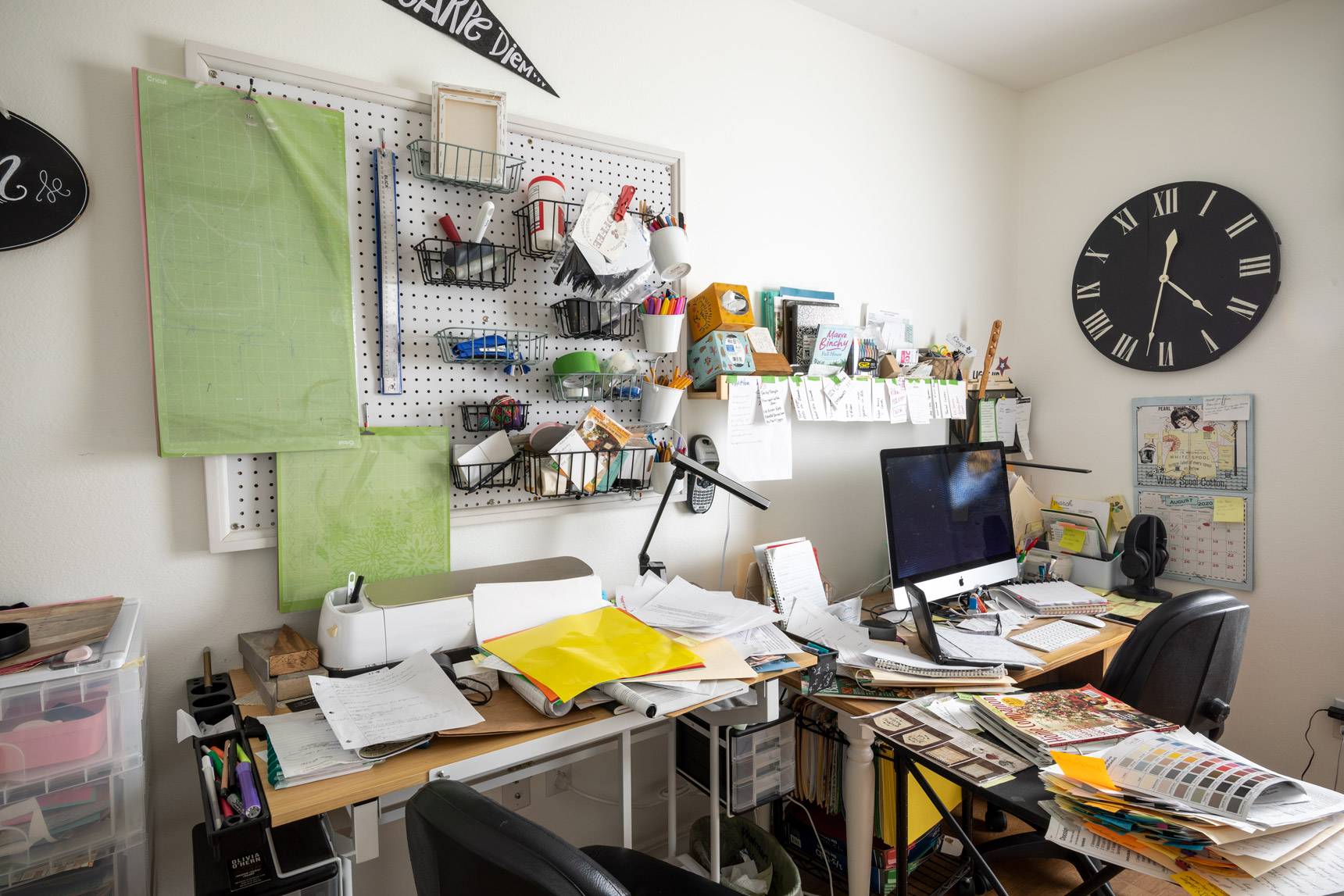 Before office organization