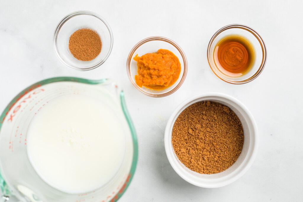 Pumpkin Mixture Ingredients