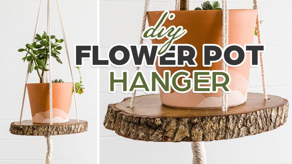 Boho plant hanger
