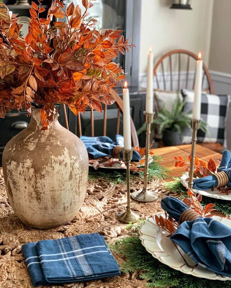 DIY Thanksgiving Tablescape