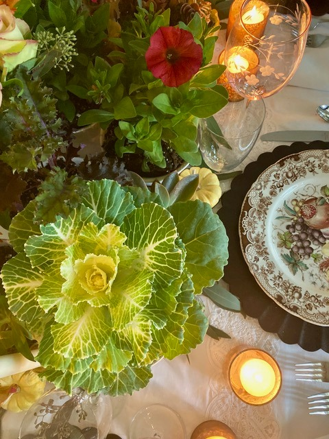 Decorating with Plants at Thanksgiving