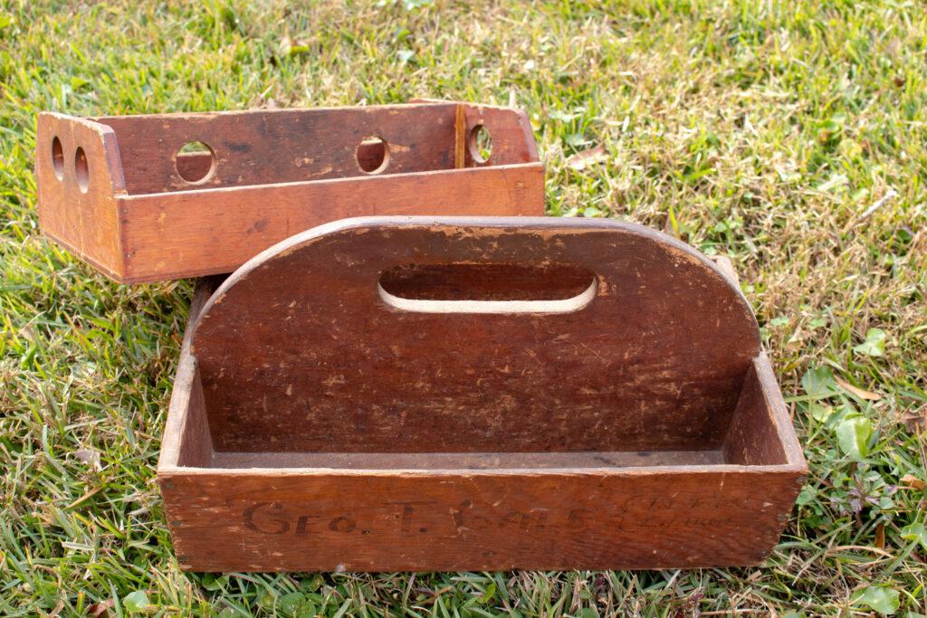 Vintage Tool Boxes (Geo. T. Gale)
