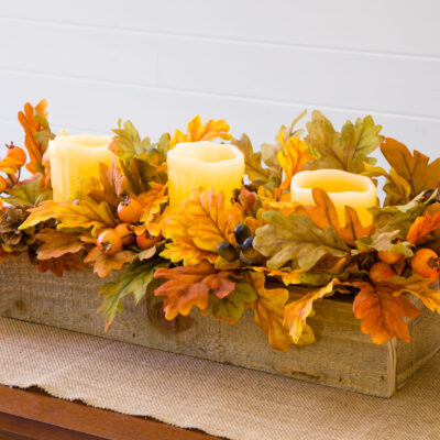DIY Thanksgiving Centerpiece Box