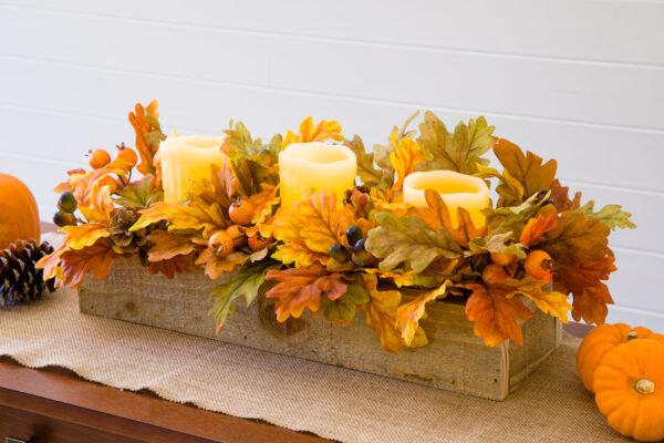 DIY Thanksgiving Centerpiece Box