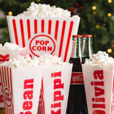 Christmas Gift Idea - Popcorn set