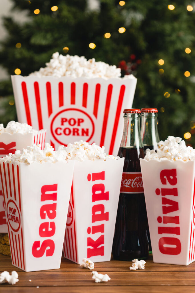 Christmas Gift Idea - Popcorn set