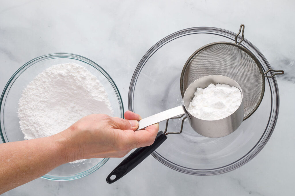 Sift Confectioners Sugar
