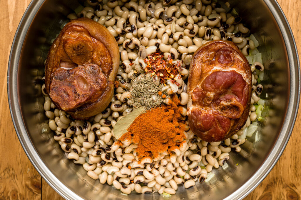 Then add the remaining spices