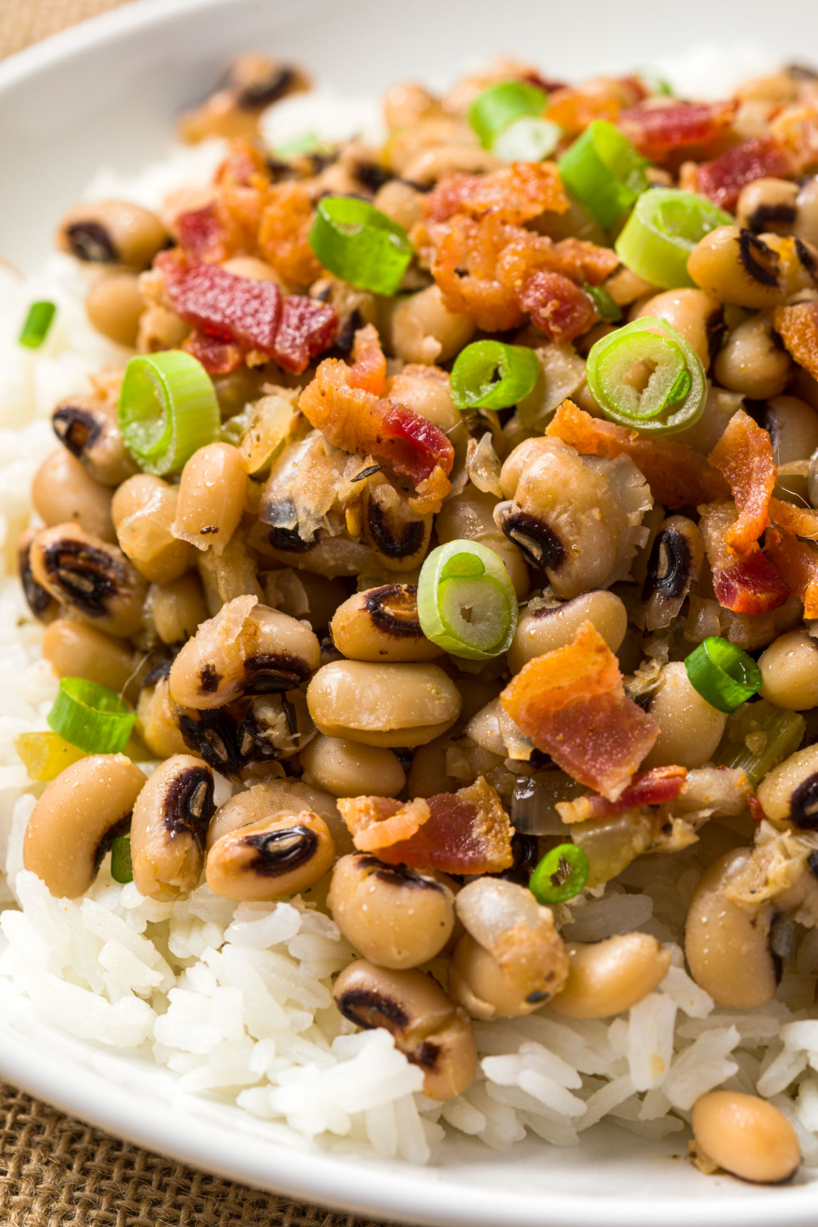 Black-Eyed Peas Southern Style