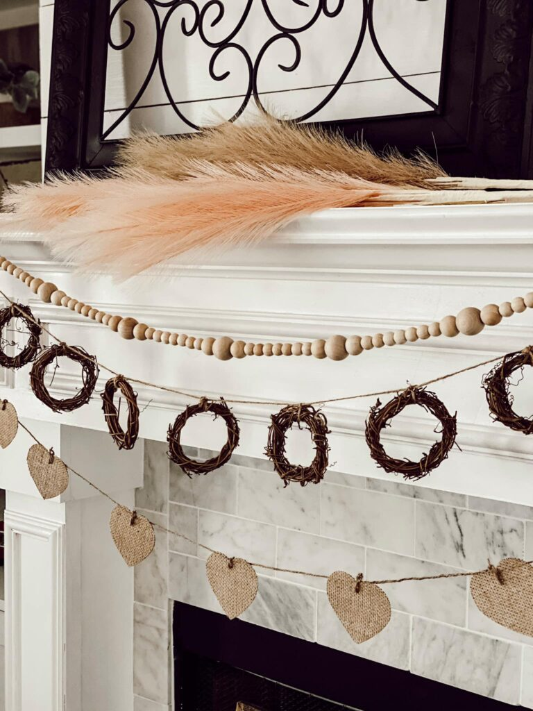 Boho Valentine's Decor