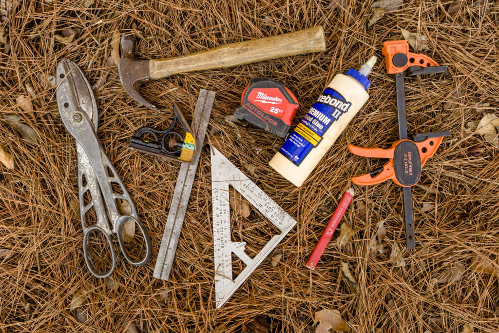 Tools for building bird houses