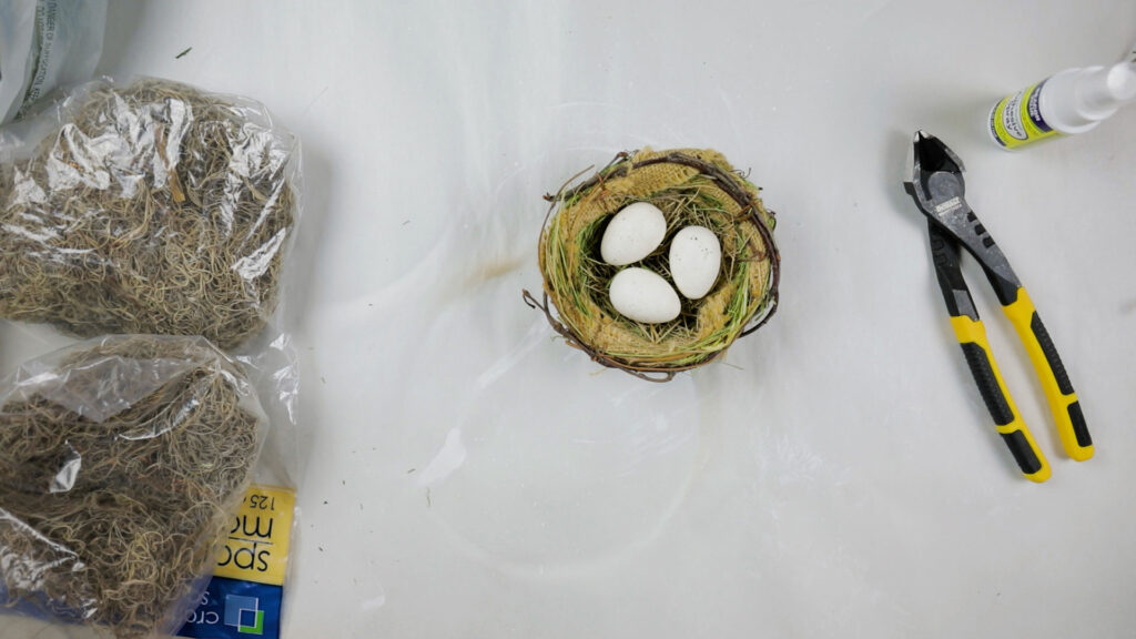 Store-bought nest