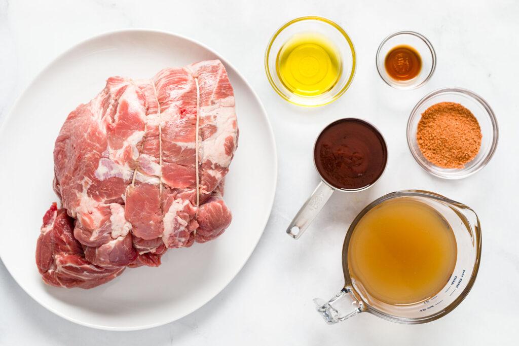 Instant Pot Pulled Pork Ingredients