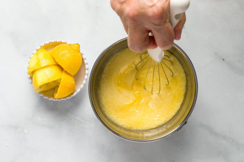 Whisk together wet ingredients