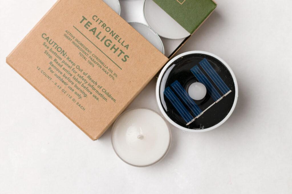 Tea lights for jar lanterns
