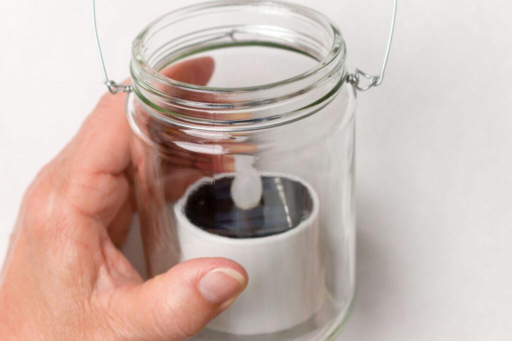 DIY Solar Jar Lights