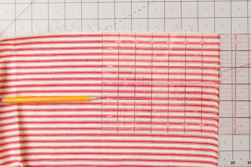 Main flag fabric