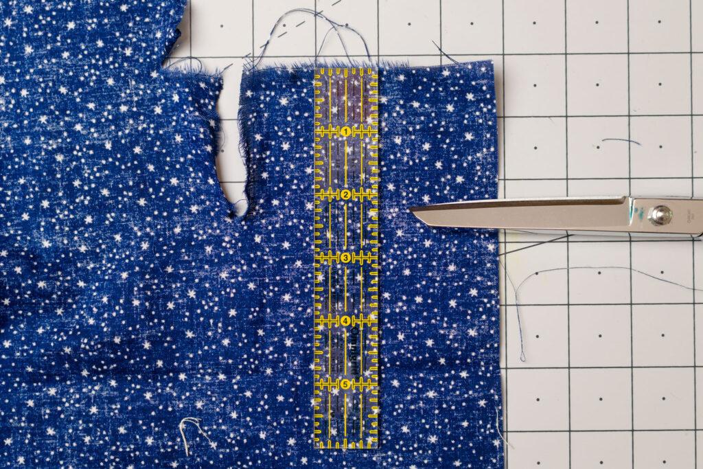 Rip the star fabric