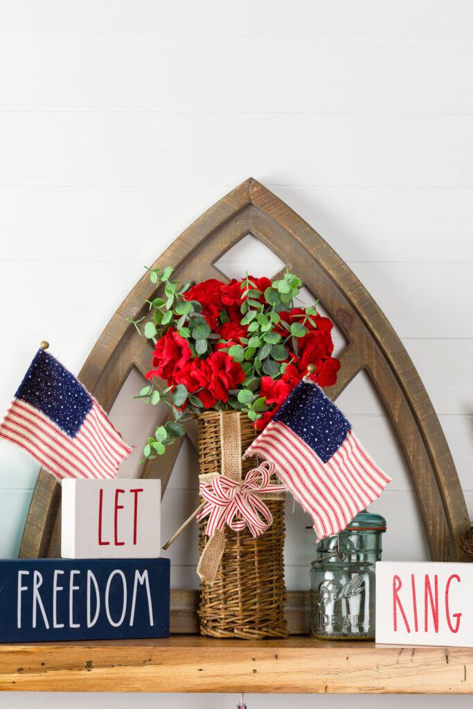 DIY Farmhouse Flags