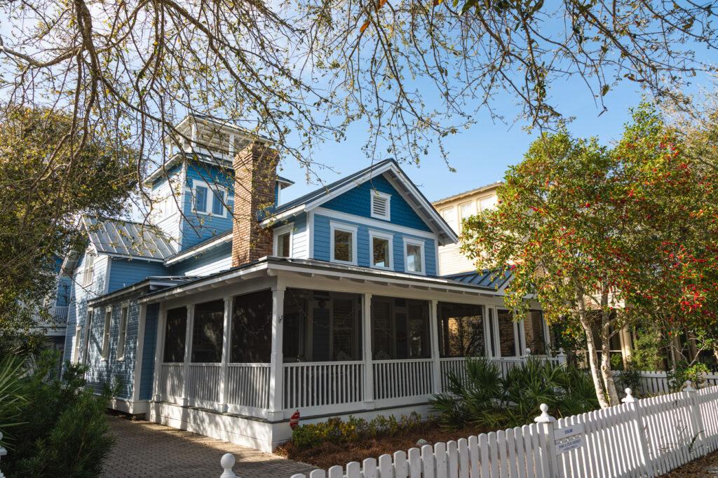 Picket Fenced House Seaside