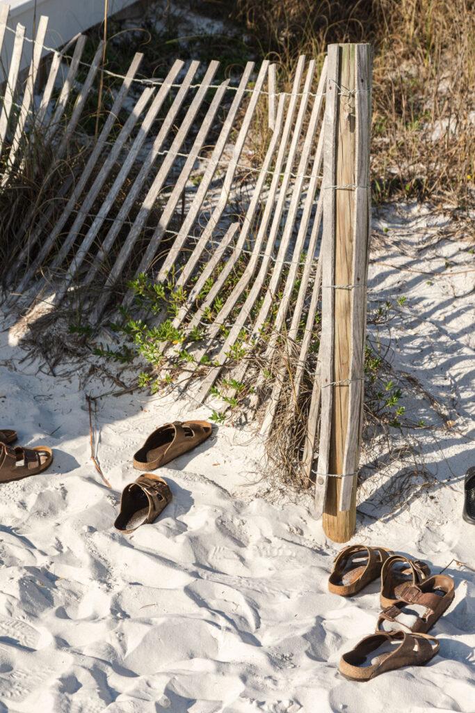 Beach sandals at Seaside
