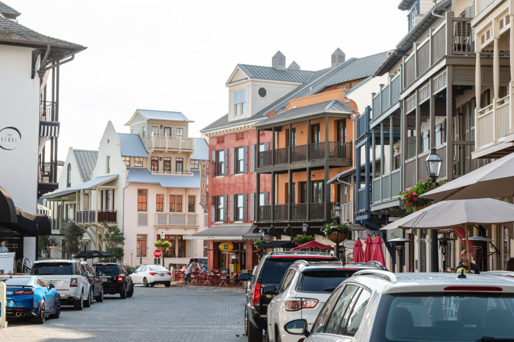 Old-World Style Buildings at Rosemary Beach